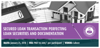 Secured Loan Transaction Perfecting